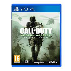 CALL OF DUTY MODERN WARFARE REMASTERED [POL] (używana) (PS4)