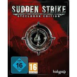 SUDDEN STRIKE 4 STEELBOOK EDITION [POL] (używana) (PS4)
