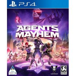 AGENTS OF MAYHEM [POL] (używana) (PS4)