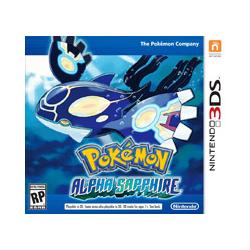 Pokemon Alpha Sapphire (używana) (3DS)
