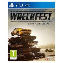 WRECKFEST DRIVE HARD DIE LAST [ENG] (nowa) (PS4)