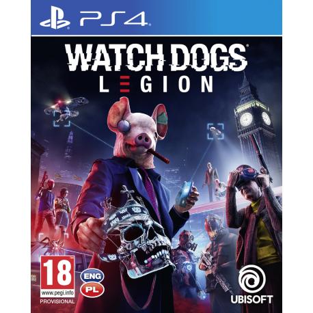 Watch Dogs Legion Preorder 06.03.2020 [POL] (nowa) (PS4)