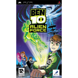 BEN 10 ALIEN FORCE THE GAME [ENG] (Używana) PSP