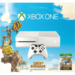Xbox One Basic 500GB White + SUNSET OVERDRIVE (NOWA)