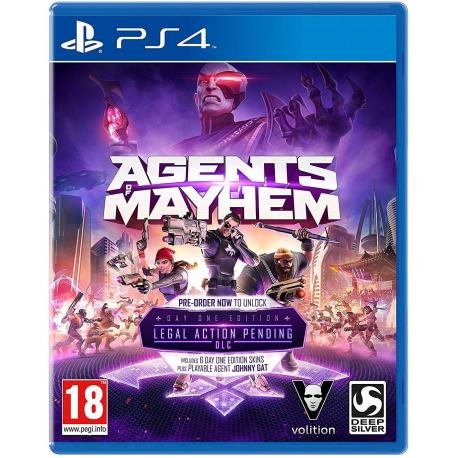 AGENTS OF MAYHEM[pl] (nowa) (PS4)