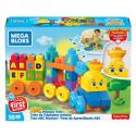 Mega Bloks Fisher-Price - Muzyczny Pociąg ABC z dźwiękami (nowa)