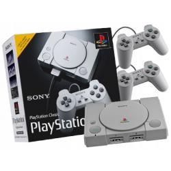PLAYSTATION CLASSIC KONSOLA 20 gier + Pady x2 (używana)
