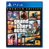 GRAND THEFT AUTO V PREMIUM EDITION [POL] (nowa) (PS4)