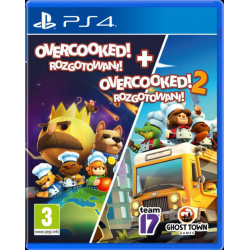overcooked rozgotowani  + overcooked 2 [POL] (nowa) (PS4)