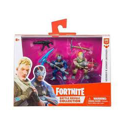 FORTNITE - 2 PACK FIGUREK Z AKCESORIUM, 5 ASS. (nowa)