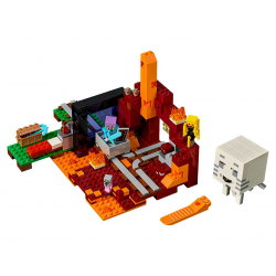Portal do Netheru 21143 lego minecraft (nowa)