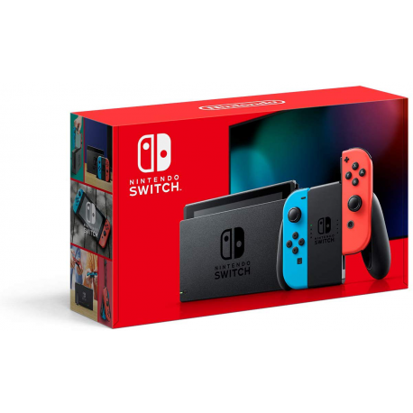NINTENDO SWITCH  NEON  RED and BLUE JOY-CON [ENG] (nowa)