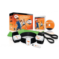 Active 2 Personal Trainer + kontrolery [ENG] (używana) (PS3)