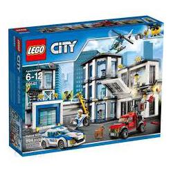 KLOCKI LEGO CITY POSTERUNEK POLICJI 60141 (nowa)