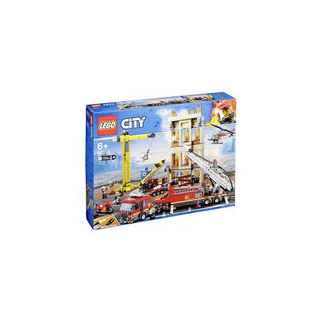 KLOCKI LEGO CITY STRAŻ POŻARNA 60216 (nowa)