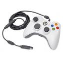 Pad Xbox 360 White przewodowy (używana) (X360)