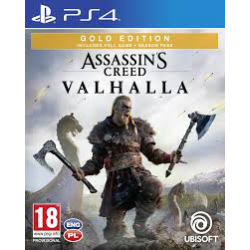 Assassin's Creed Valhalla GOLD EDITION [POL] (nowa) (PS4)