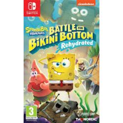 Spongebob SquarePants: Battle for Bikini Bottom – Rehydrated  [POL] (nowa) (Switch)