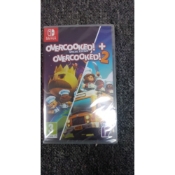 OVERCOOKED+OVERCOOKED 2 ANG SWITCH (nowa) (Switch)