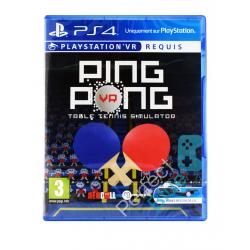 Ping Pong Table Tennis VR [ENG] (używana) (PS4)