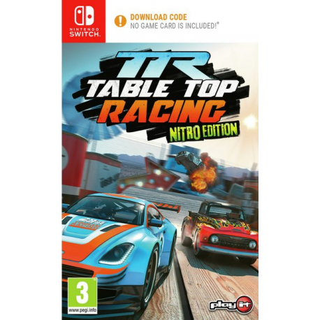 Table Top Racing: Nitro Edition Wersja Cyfrowa [ENG] (nowa) (Switch)