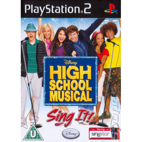 High School Musical SING IT [ENG] (nowa) (PS2)