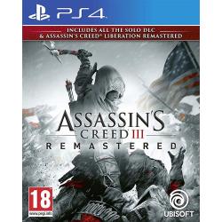 Assassin's Creed III + Liberation Remastered [POL] (używana) (PS4)