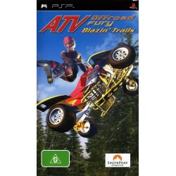 ATV OFFROAD FURY BLAZIN' TRAILS [ENG] (używana) (PSP)