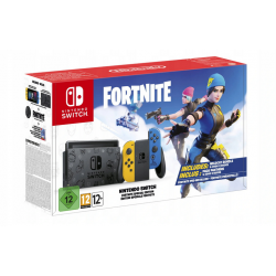 NINTENDO SWITCH V2 YELLOW/BLUE FORTNITE LIMITED EDITION (nowa) (Switch)