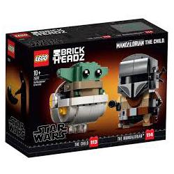 KLECKI LEGO BRICK HEADZ STAR WARS 75317 (nowa)