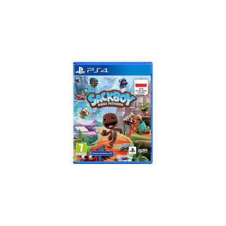 Sackboy Wielka Przygoda [POL] (używana) (PS4)