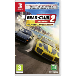 Gear Club Unlimited 2 Porsche Edition [ENG] (używana) (Switch)