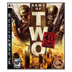 ARMY OF TWO THE  40TH DAY [ENG] (Używana) PS3