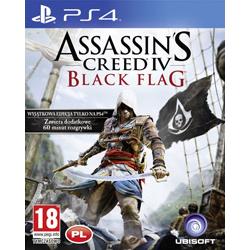 ASSASSIN'S CREED IV BLACK FLAG [PL] (Używana) PS4