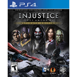 INJUSTICE  GODS AMONG US ULTIMATE EDITION [ENG] (Nowa) PS4