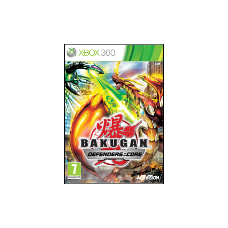 BAKUGAN BATTLE BRAWLERS DEFENDERS OF THE CORE [ENG] (Używana) x360