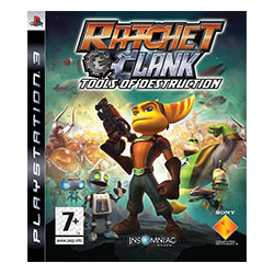 RATCHET AND CLANK TOOLS OF DESTRUCTION [ang] (Używana) PS3