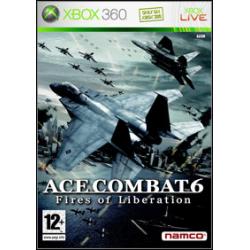 Ace Combat 6 Fires of Liberation [ENG] (Używana) x360