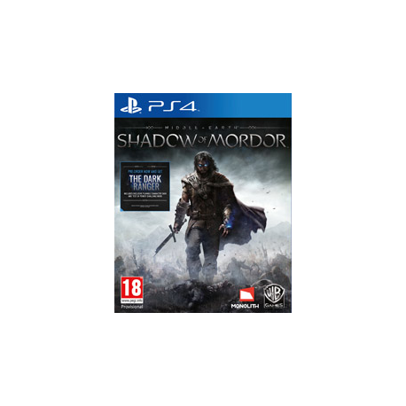 MIDDLE EARTH SHADOW OF MORDOR [PL] (Nowa) PS4