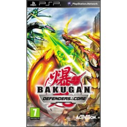 Bakugan Battle Brawlers Defenders of the Core [ENG] (Używana) PSP