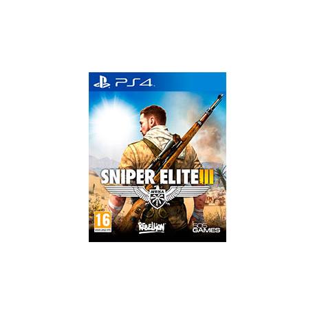 SNIPER ELITE  III AFRIKA [PL] (Nowa) PS4