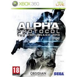 Alpha Protocol Szpiegowska gra RPG [ENG] (używana) (X360)