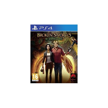 BROKEN SWORD 5 KLĄTWA WĘŻA [ENG] (nowa) PS4