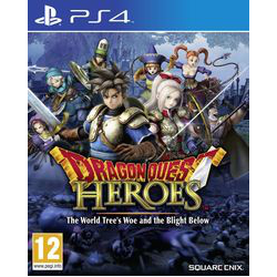 DRAGON QUEST HEROES THE WORLD  TREE'S WOE AND THE BLIGHT BELOW  [ENG] (używana) PS4