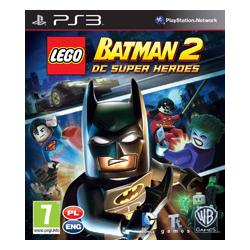 LEGO BATMAN 2 DC SUPER HEROES [PL] (Używana) PS3