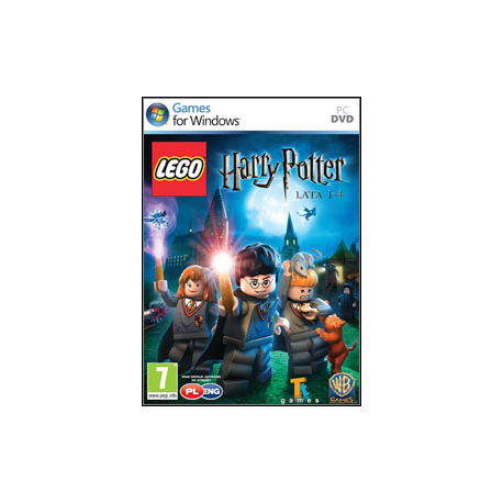LEGO Harry Potter Lata 1-4 [POL] (nowa) (PC)