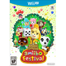 Animal Crossing Amiibo Festival + dwie figurki  (nowa)
