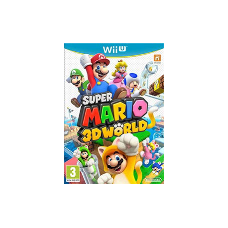 Super Mario 3D World [ENG] (nowa) (WiiU)