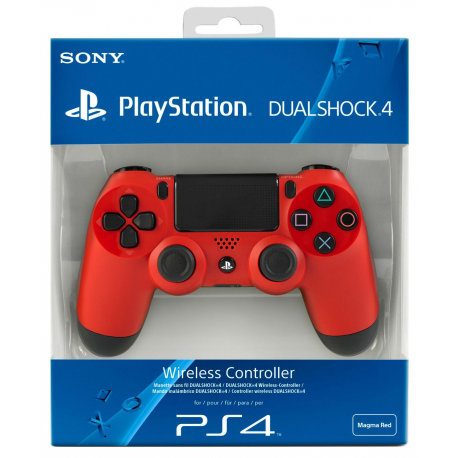 Pad PS4 MAGMA RED (nowa)