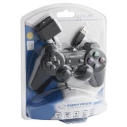Esperanza Pad for PC PS 2/3  (nowa) (PS2)